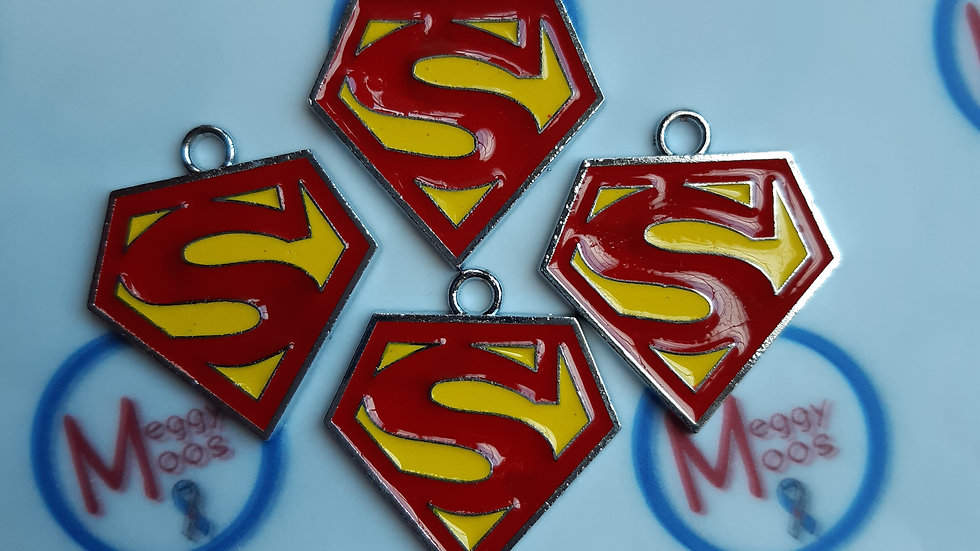 Superman pendant keyrings