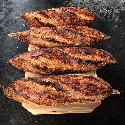 Whole wheat bread / לחם חיטה מלאה / 720 גרם