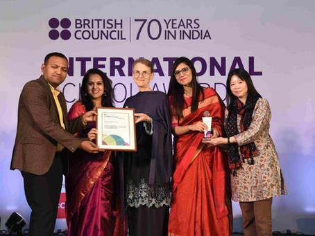ISA Award for Third Time