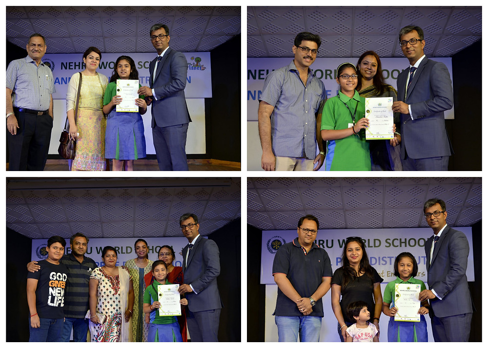 Annual Prize Distribution Classes 4 to 6