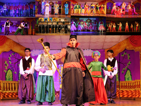 'Aladdin' - German Annual Production 2019 by Grade 8