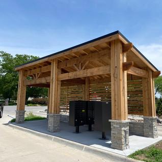 Neighboorhood Mailbox Pavilion
