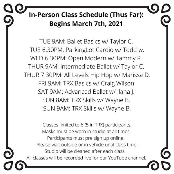In-Person Class Schedule_ Tue 6_30PM_ Pa