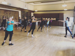 Ballet with Tracey!