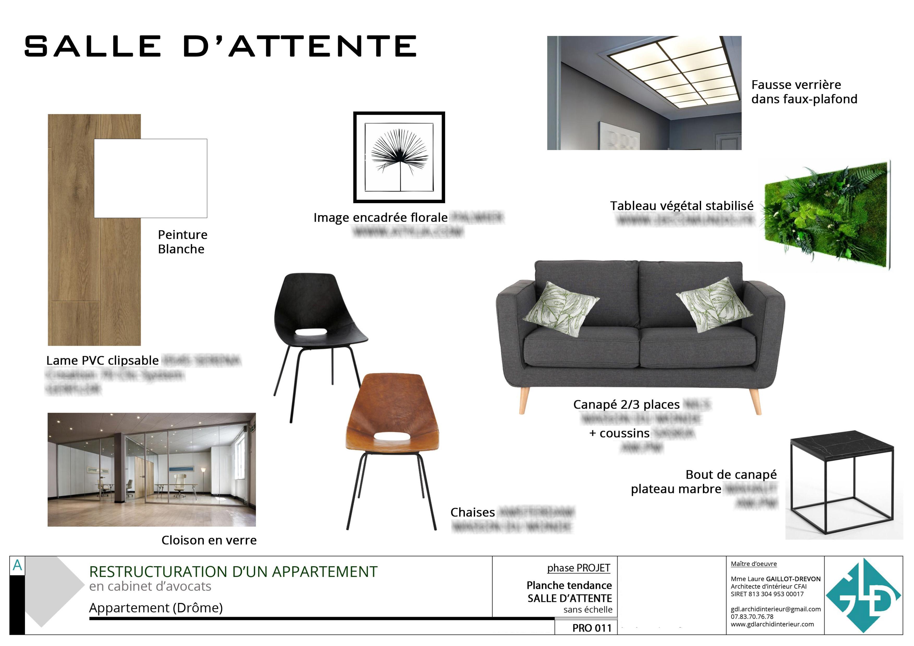 011 TENDANCE SALLE D'ATTENTE