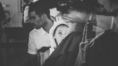 Regard sur la mariée