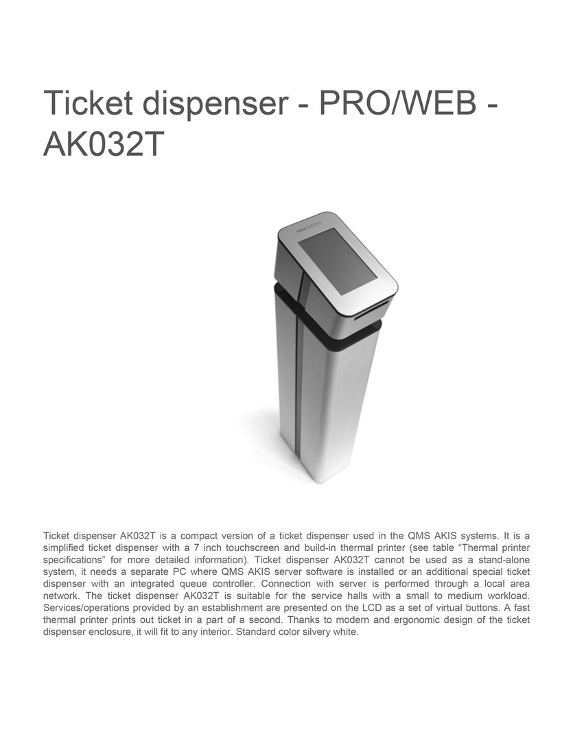 ticket-diSpenser proweb- ak032t