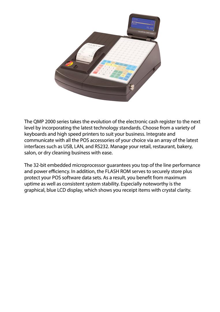 QMP18 low cost cash register
