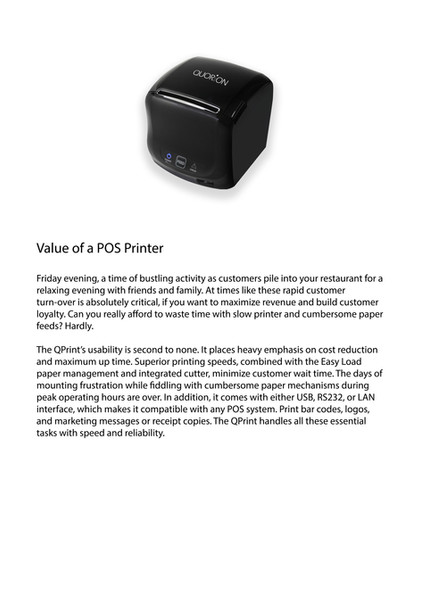 Pos printer Qprint4