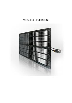 MESH LED SCREEN