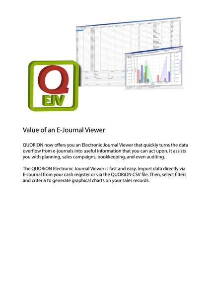 Pos software e journal viewer