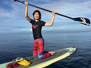 Paddle Boarding at Portulano House Reef