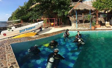 Learn Scuba at Portulano Dive Resort PADI Courses