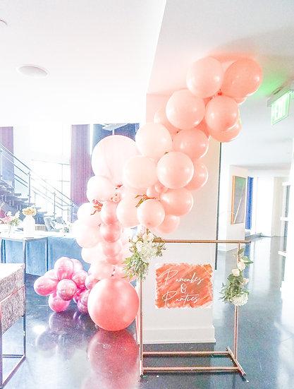 DIY 'Leave You Blushing' Balloon Kit