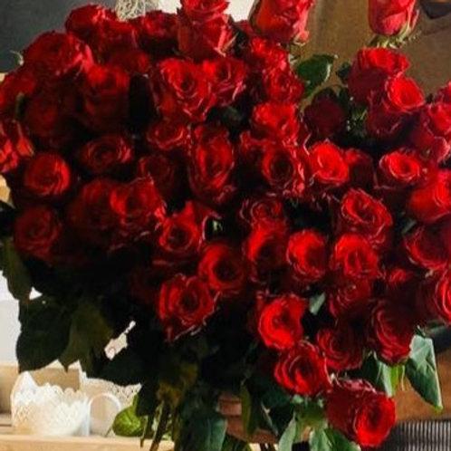 Rote Rosen Traum 21 Stk.