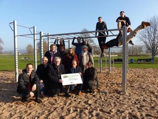 Freizeitanlage Godelheim mit einem Fitness-Park der ganz besonderen Art