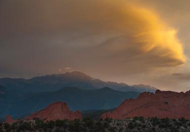 Colorado Rockies Sunset