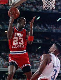 Michael Jordan, All Star