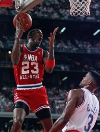 Michael Jordan, All Star