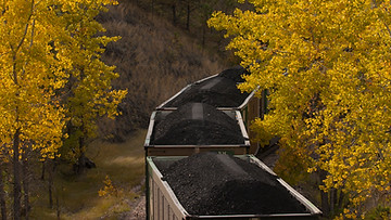 Coal Train in Autumn