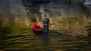 Midstream Kayaker