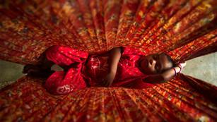 Child in Sari Hammock