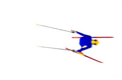 Overhead Skier