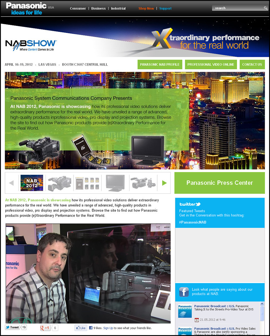 NAB Homepage
