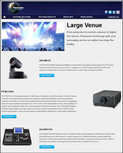 Infocomm- Large Venue