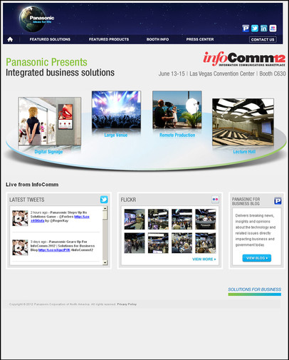 Infocomm- Homepage