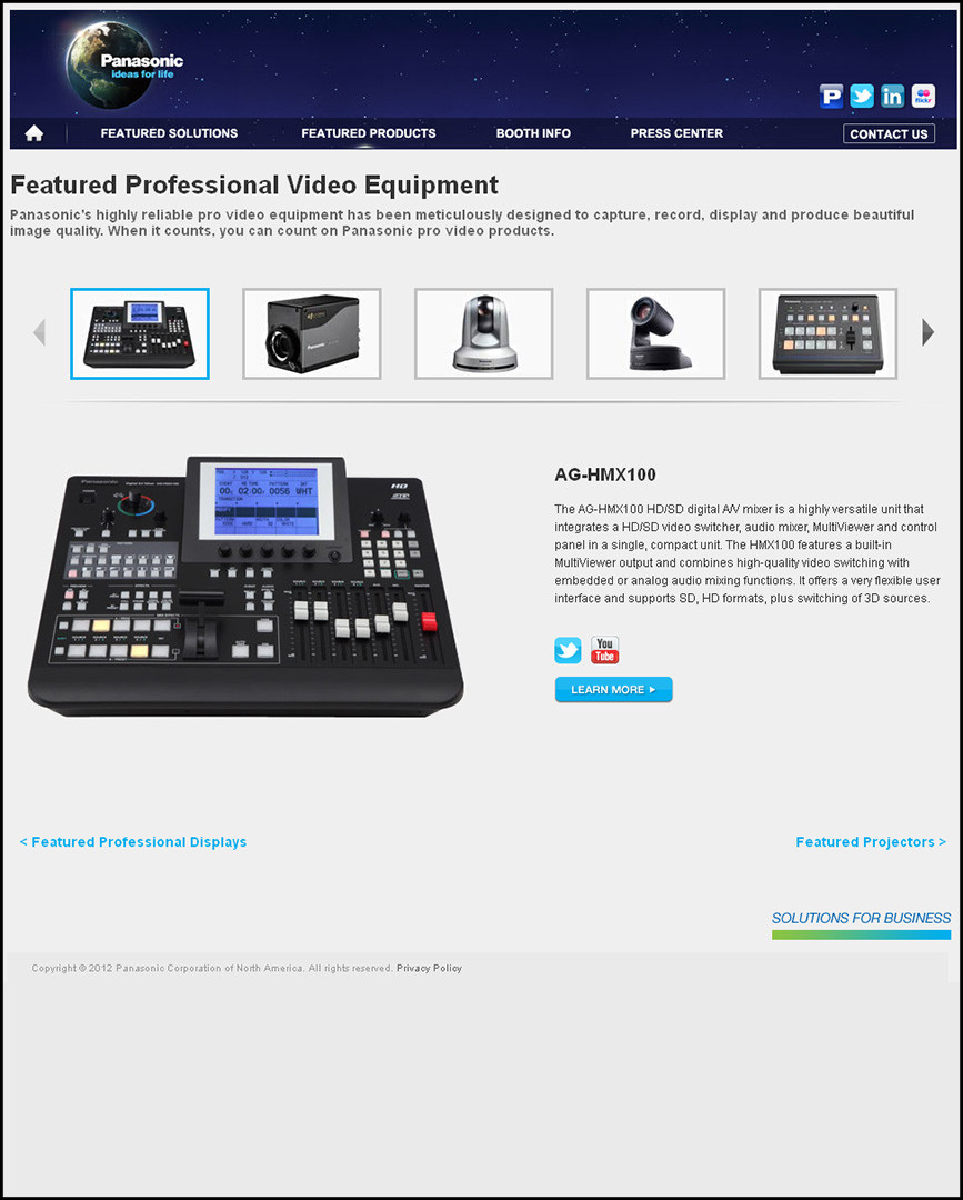 Infocomm- Professional Video