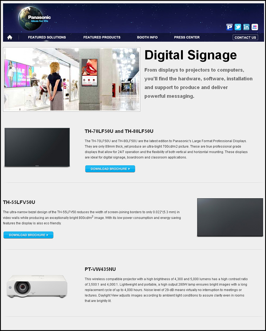 Infocomm- Digital Signage