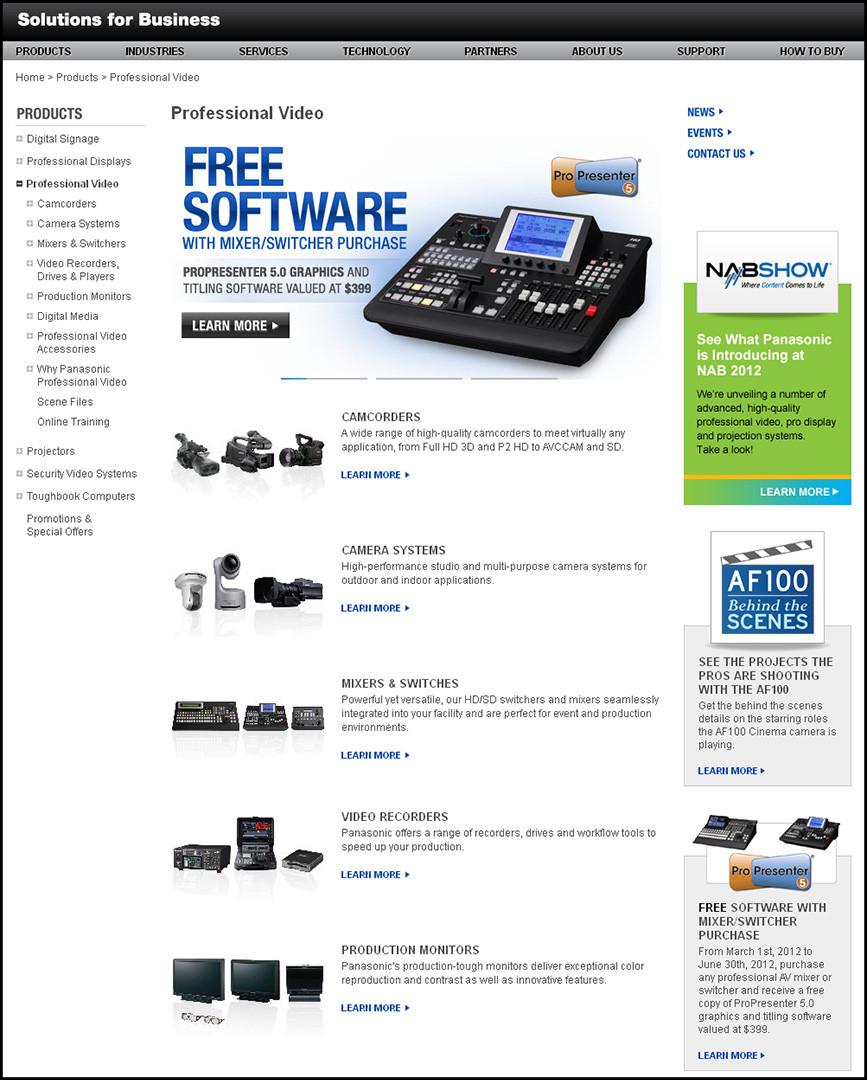 PSC Website - Professional Video