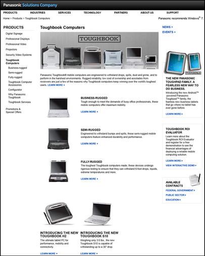 PSC Website - Toughbook Computer
