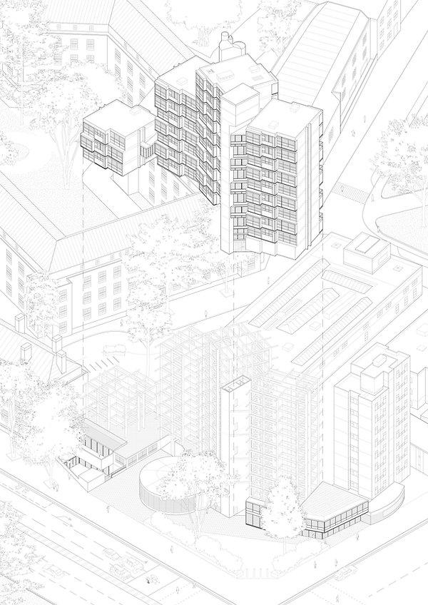 Lambeth Tower Diagram