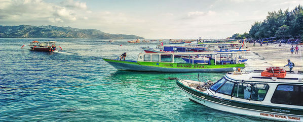 Departing Gili Islands