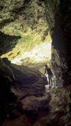 Cave exploring