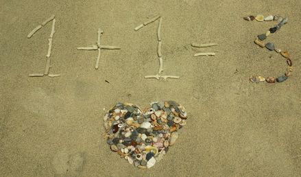 In love, math does not matter