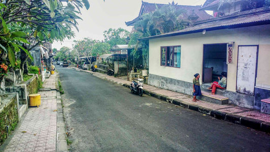 Streets in Bali