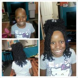 #Kinkytwist#wig Done!!!