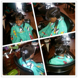 Kid wig #ageappropriate