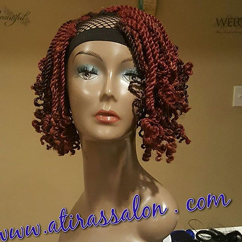 Kinky twist u-part leave out