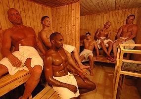 The Dry Sauna at The Boiler Room Sauna Hove, formerly TBS2 Sauna