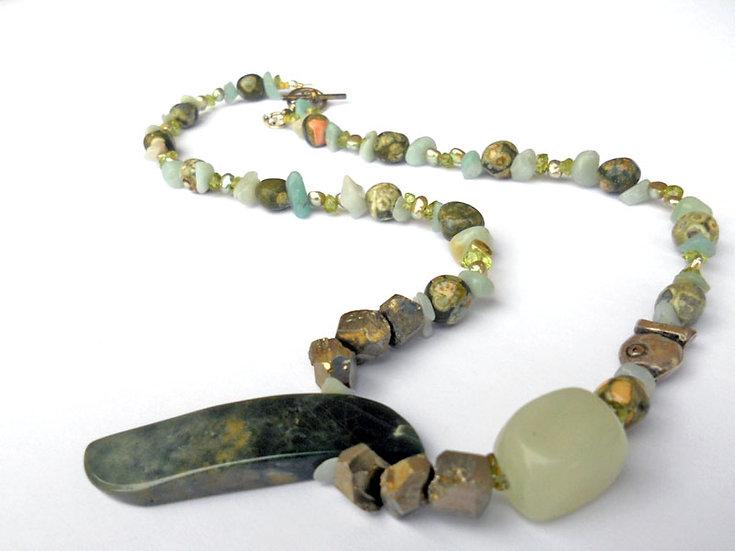 Sea Green Necklace