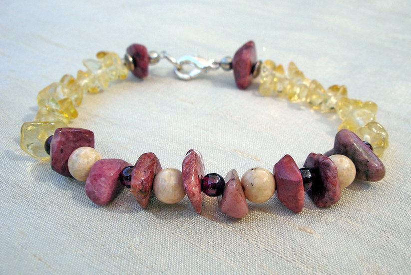 Pink Stone Bracelet