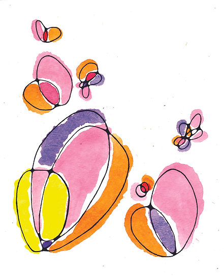Hearts & Butterflies Greeting Card