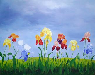Piece of the Week - Among the Irises