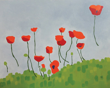 Piece of the Week - Poppies!