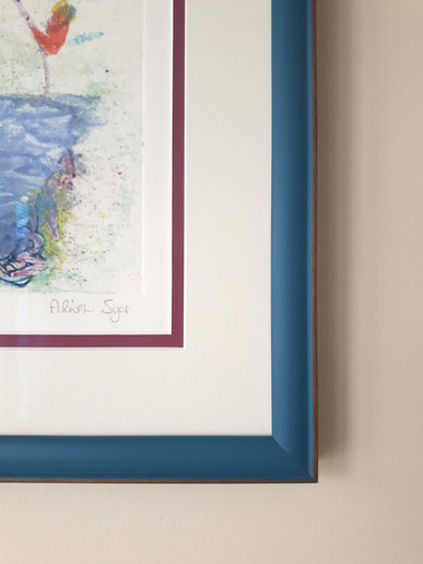 Tips for Displaying Art: Matting