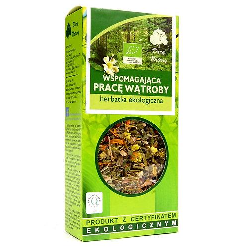 Herbata wspomagająca pracę wątroby eko 50g DARY NATURY